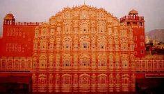 Hawa Mahal(palace of winds) , Jaipur