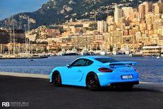 Miami Blue Porsche Cayman GT4 Is Why We Love Porsche Exclusive