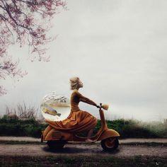 Surreal Photo Manipulations By Ex-Ballet Dancer Kylli Sparre | Bored Panda
