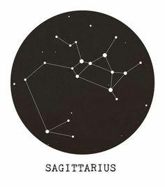 Sagittarius constellation sign