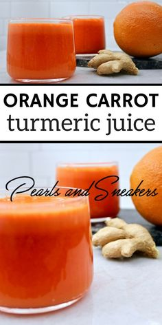 One of the best juice combinations with all the healing powers! #juice #orange #turmeric #carrot #healthy #breakfast