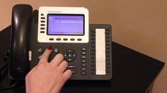 Grandstream GXP2160 How to transfer a call