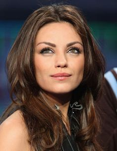 Mila Kunis. Someday, I'm going to steal her face.