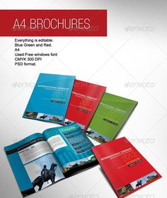 59 best conference brochure images on pinterest booklet layout