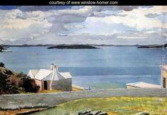 Inland Water, Bermuda - Winslow Homer - 1901, watercolor on paper , www.winslow-homer.com