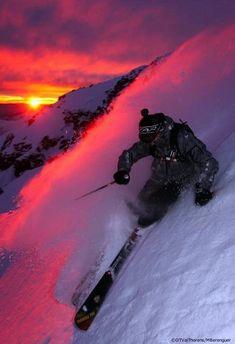 Ski resorts en Val Thorens, France
