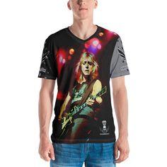 Men's T-shirt Mick Ronson Shirt Mick Ronson, Cut Above The Rest, T Shirt Painting, Tee Shirts, Tees, Designer Wear, Hoodies, Mother Earth, Celebrities