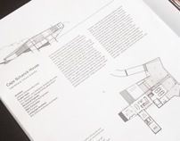 Architecture book design and layout