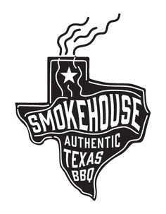 Smokehouse BBQ Bali Logo. Authentic Texas Barbecue.