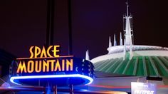 Space Mountain at Disney's Magic Kingdom - This is my all time favorite ride at Disneyland, I'm so excited about riding this at the Magic Kingdom!