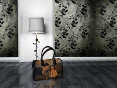 I would like a bag like that:P Decoupage, Wall Lights, Pattern, Bags, Color, Home Decor, Purses, Fotografia, Art