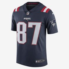 NFL New England Patriots Color Rush Limited Jersey (Rob Gronkowski) Men's Football Jersey
