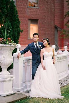 Photo by Amgfotography One Shoulder Wedding Dress, Centre, Wedding Photos, Wedding Dresses, Fashion, Marriage Pictures, Bride Dresses, Moda, Bridal Wedding Dresses