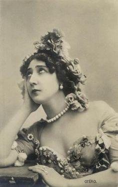 Каролина Отеро (La Belle Otero) 1868-1965. Обсуждение на Блоги на Труде