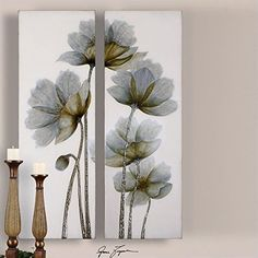 Uttermost 34201 Floral Glow Floral Art (Set of 2) ** To view further for this item, visit the image link.