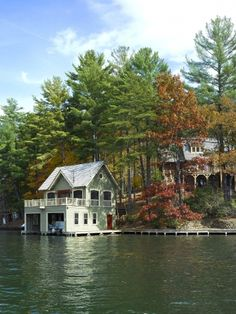 Harrison Design Associates Projects, lake house...go in with several family members?