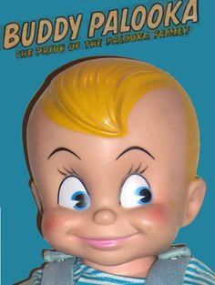 """1953 Personality Doll Corp 15"""" Buddy Palooka"""