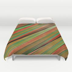 Buy ultra soft microfiber Duvet Covers featuring Colored stripes background no. 2 by Christine baessler. Hand sewn and meticulously crafted, these lightweight Duvet Cover vividly feature your favorite designs with a soft white reverse side.