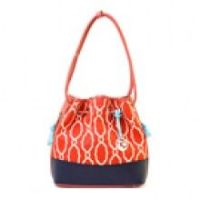 Sallie Ann Color Block Drawstring