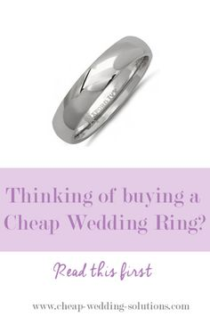 A cheap wedding ring is practical, but that doesn't mean you have to sacrifice style or quality. There are so many beautiful and affordable wedding rings. Cheap Wedding Rings, Wedding Jewelry, Wedding Dance Songs, Low Cost Wedding, Dream Wedding, Fine Jewelry, Good Things, Engagement Rings, Budget