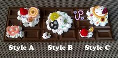Decoden Chocolate Compact Mirror by PancakeMakesPlush on Etsy #Decoden #lolita fashion