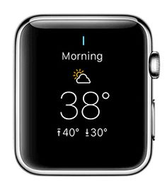 iClarified - Apple News - Yahoo Weather App Released for the Apple Watch