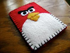 angry bird iphone cover omg! @deb Gilbert!!! You can make this!!!!