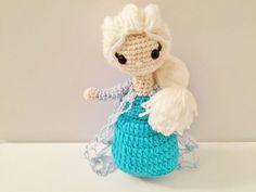 Elsa Crochet doll Frozen Inspired  In Stock by HelloSweetKids ♡