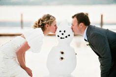 Idaho winter wedding