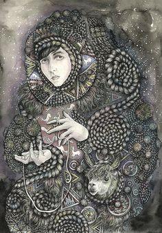Yokoo - This artist is Brett Manning in Chicago. www.brettisagirl.com