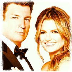 Nathan Fillian & Stana Katic from ABC #Castle Season 6 Promo Shot