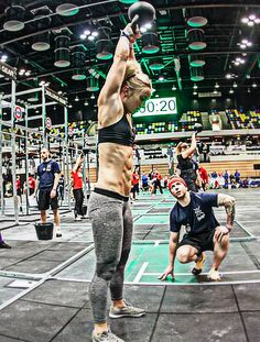 crossfitters:  Linnea Fransson by Pete Williamson