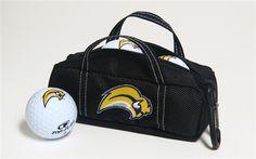 Buffalo Sabres Mini Hockey Bag with Golf Balls by Hockey Stick Putter.  Buy it @ ReadyGolf.com