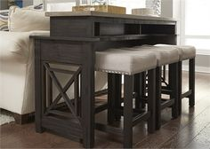 Liberty Furniture Console Bar Table 422