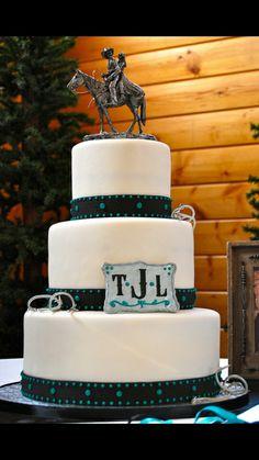 Horse wedding cake.