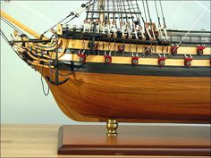 More Detailed Pictures of the HMS Agamemnon Ship Model4