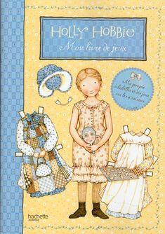 Mon livre de jeux Holly Hobbie...!!!