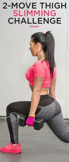Sculpt and Shape Your Thighs in Only Four Weeks! - 2-Move Thigh Slimming Challenge
