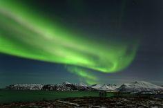 Skywatcher Robert Korizek took this photo of an aurora over Tromso, Norway in March 2012.