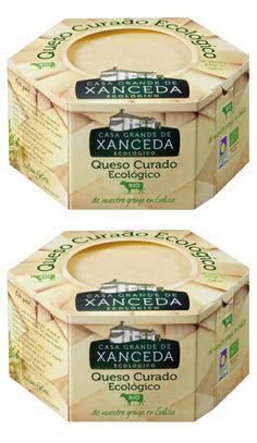 #cheese #packaging QUESOS CURADO ECOLÓGICO  A CASA GRANDE DE XANCEDA