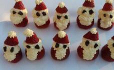 Santa strawberries recipe - Christmas cuteness