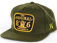 Coffin Snapback Cap by CHARLIE NOBLE