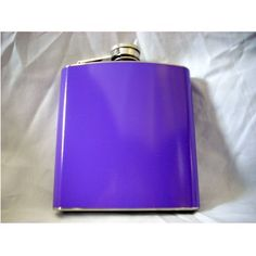 Purple Flask for Women, 6oz by CKB Products Wholesale. $2.57. Wholesale Prices. Purple Color for Women. 6oz Stainless Steel. Compact Size. Bright Color. 6oz Purple Flask   This high quality 6oz purple flask is made from stainless steel and distributed by CKB Products Wholesale. The purple coating is a durable vinyl wrap that will not peel or fade easily. The pink is created by a $25,000 printer that allows full continuous color all the way around the flask with even ink di...