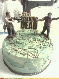 #thewalkingdead #cakes
