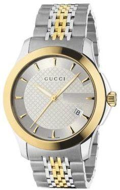 0f47e45a86294 Gucci - G-Timeless Collection Watch Stainless Steel   Gold PVD
