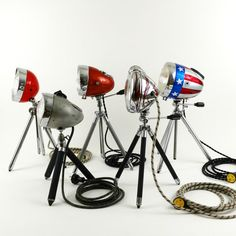 Indus, Lamp Makeover, Tripod Lamp, Vespa, Metal Art, Lamp Light, Diy And Crafts, Steampunk, Motorcycles