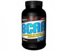 BCAA 2400 200 Cápsulas - Body Action com as melhores condições você encontra no Magazine Edmilson07. Confira!