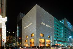 Louis Vuitton Tokyo Ginza  #architecture #interior #marino #peter Pinned by www.modlar.com