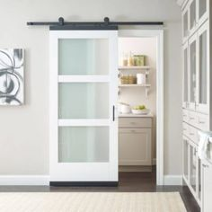 """The right door has the power to unlock the potential of a home's interior. What kind of doors get you   Interior Trim, Interior Barn Doors, Exterior Doors, Home Interior, Modern Interior, Interior Design, Barn Door Closet, Diy Barn Door, Diy Door"