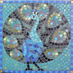 Mosaic Projects for Adults | Peacock Mosaic Kit